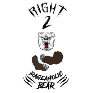 RIGHT 2 BEAR ARMS - PREMIUM UNISEX S/S T-SHIRT - WHITE Design